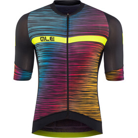 Alé Cycling Graphics PRR End Maillot Manga Corta Hombre, black-multicolor